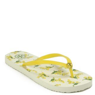 Tory Burch Yellow Flip Flops
