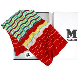 Missoni Zig-Zig Print Summer Scarf