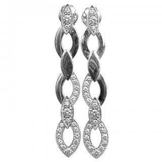 Cartier Diadea White Gold Diamond earrings