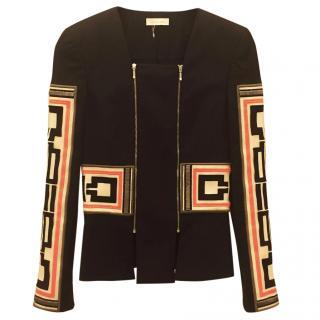 Sass & Bide Black and Neon Jacket