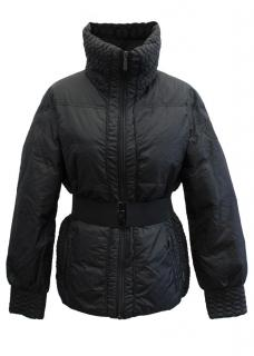 Moncler Women's Black Quilted High Collar Jacket