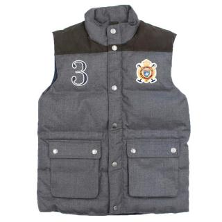 Hackett Boy's Grey Body Warmer