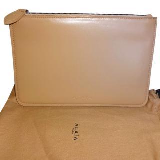 ALAIA Blush Clutch Bag