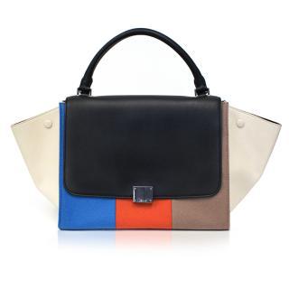 Celine Multicolor Felt Trapeze Bag