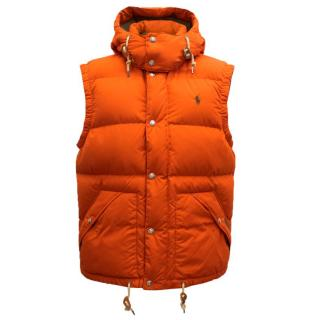 Ralph Lauren Polo Men's Orange Body  Warmer