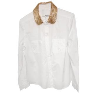 3.1 Phillip Lim Crisp White Cotton Shirt