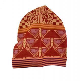 Anna Sui Multicoloured Wool Beanie