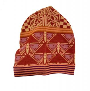 Anna Sui Multicoloured Wool Beanie