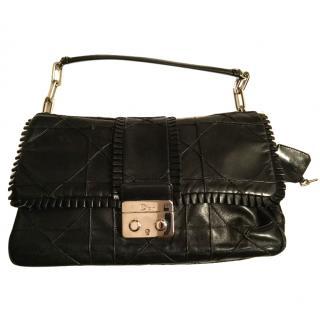 Dior Black Leather Handbag