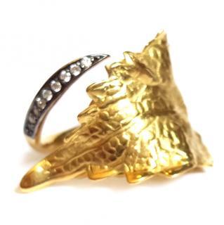 Ana Khouri Infusion Leaf & Diamond Ring