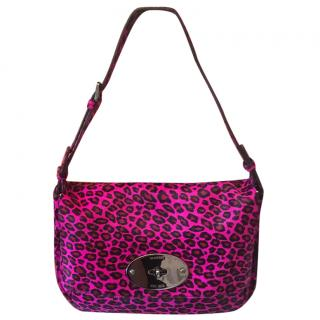 Mulberry Bayswater Clutch in Cheetah Haircalf