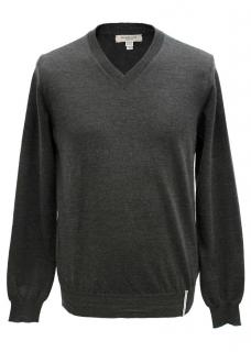 Burberry Men's Dark Grey Jumper