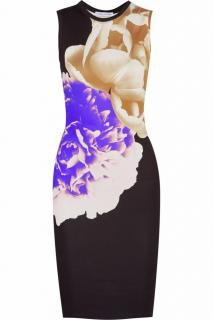 Jonathan Saunders Printed Stretch-Jersey Dress
