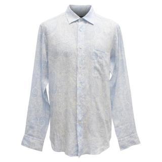 Zegna Sport Men's Paisley Shirt