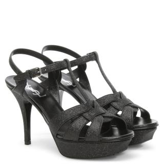 YSL Glitter Sandals