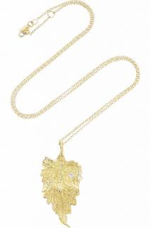 Ana Khouri Infusion Leaf Diamond Pendant