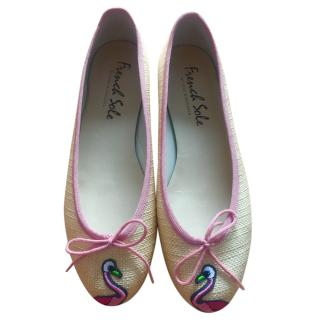 French Sole Flamingo Ballerina Pumps