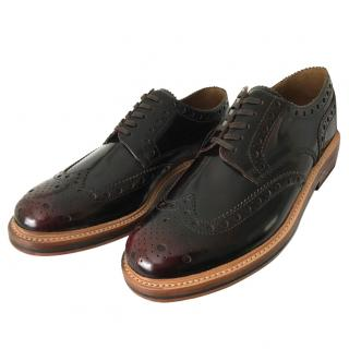 Mens Grenson 'Archie' Brogue shoe with triple leather sole BNWB