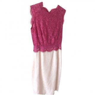 Tablot Runhof Dress and matching shawl