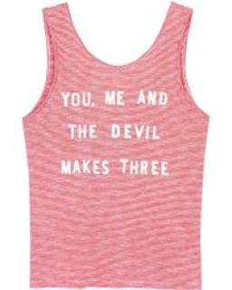 Zoe Karssen vest you me and the devil makes three