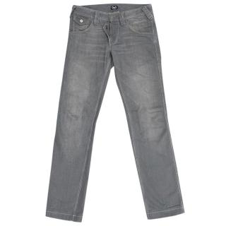 D&G Men's Grey Jeans