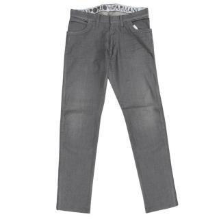 Emporio Armani Men's Grey Jeans