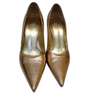 Guiseppe Zanotti Gold High heels