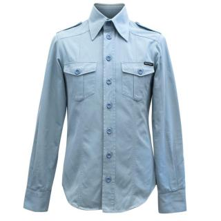 Dolce & Gabbana Men's Blue Shirt