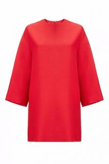 Valentino Red Cocoon Dress