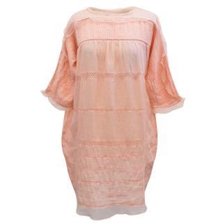 Isabel Marant Peach Frill Dress