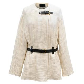 Isabel Marant Glasco belted quilted-down jacket