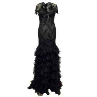 Bellville Sassoon Lorcan Mullany Black Long Dress