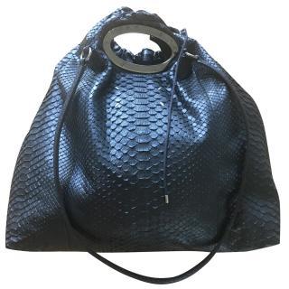 Maison Martin Margiela Python leather bag