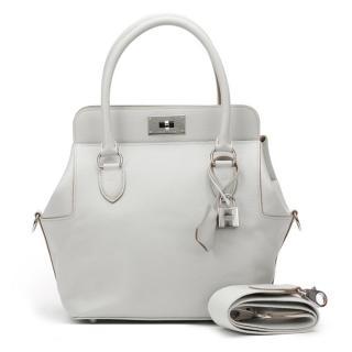 Hermes Grey Toolbox Bag