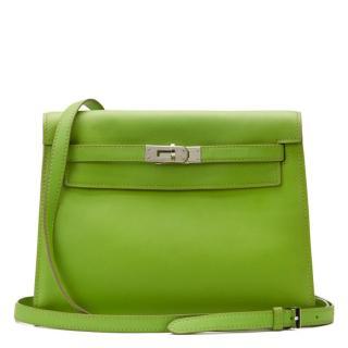 Hermes Green Kelly Danse Bag