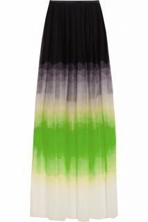 JONATHAN SAUNDERS April Ombre Silk-Chiffon Maxi Skirt