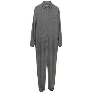 Isabel Marant Grey 'Peters' Utility Jumpsuit