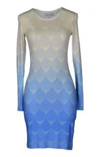 Jonathan Saunders Blue Short Dress