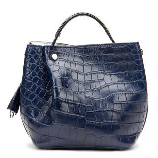 Dior Navy Diorific Bucket Bag