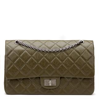Chanel Olive Reissue 225 Bag