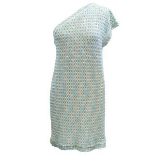Missoni Metallic One Shoulder Dress