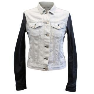 Rag & Bone Denim and Leather Jacket