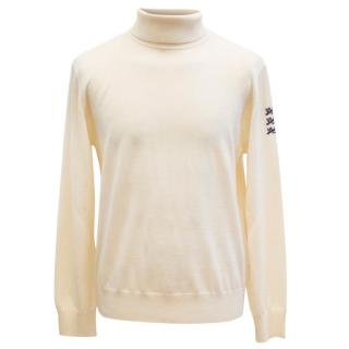 Kent & Curwen Men's Cream Turtleneck