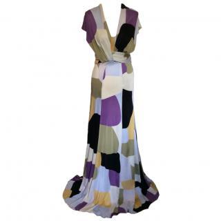Issa full length Maxi silk dress