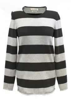 Isabel Marant etoile Black and Grey Striped Top