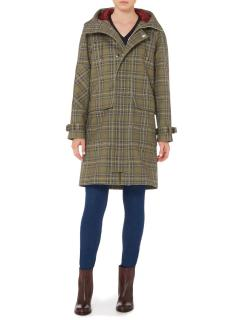 Victoria Beckham Plaid Coat