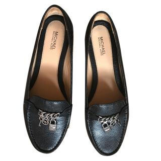 Michael Michael Kors black loafers with charms