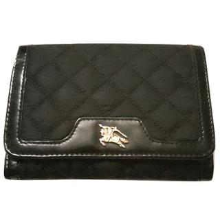 Burberry black wallet in excellent condition