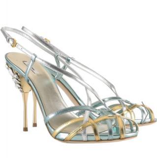 Miu Miu embellished crystal sandals