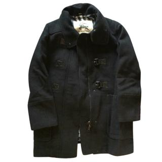 Burberry Black Winter Coat